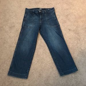 Women's Old Navy wide-leg culotte jeans - size 8